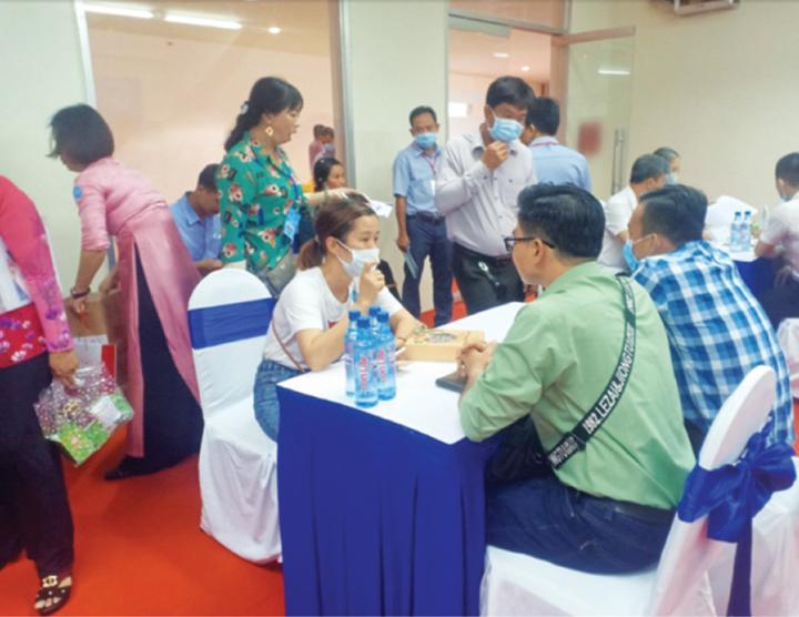 Hiệu quả thông qua tổ chức các Hội nghị kết nối cung cầu và giới thiệu những sản phẩm OCOP Gia Lai